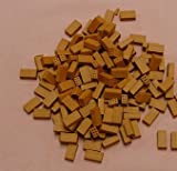 100 ladrillos CERÁMICA miniatura para maquetas. LARGO 3cm. ref 21001 AEDES ARS
