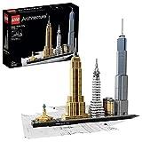 LEGO 21028 Architecture Ciudad de Nueva York, Maqueta para Construir, Regalos Originales...