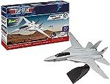 Revell-F-14 Revell 04966 F-14 Tomcat Top Gun-Maqueta para Principiantes (Sistema Easy...