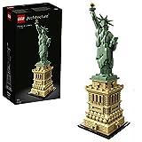 LEGO 21042 Architecture Estatua de la Libertad de Nueva York Set de Construcción, Modelo...