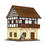 Walachia- Casa con Granero Kits de madera (115) , color/modelo surtido