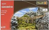 Faller FA 180391 - Puente Colgante, Accesorios para maquetas de ferrocarril