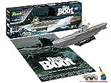 Revell-Revell-05675 Regalo Set Das BOOT-40 Aniversario, Escala 1:144, con Pinturas Base,...