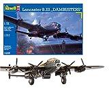 Revell Avro Lancaster B.III DAMBUSTERS, Kit de modelo, escala 1:72 (4295) (04295)