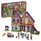 LEGO Friends - Casa de Mia, casa de muñecas divertida para construcción, incluye...