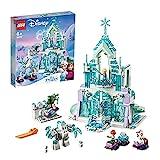 LEGO 43172 Disney Princess Palacio mágico de Hielo de Elsa Juguete de Construcción