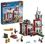 LEGO 60215 City Parque de Bomberos, Camión de Bomberos de Juguete para Niños +5 Años...