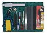 Gundam Modeler Builder's Tools Craft Set Kit 16 PCS For Professional Bendai Hobby Model...