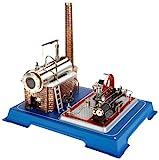 Wilesco D16 - Maqueta de máquina de Vapor (Capacidad de Caldera 250 ml, Incluye válvula...
