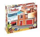 Teifoc Teifoc-T4800 Stone Blocks-Estación de Bomberos, Color Multicolor, Fire Station...