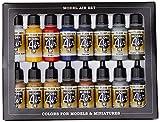 MODEL AIR SET: Colores Básicos - 16 Hobby Colors