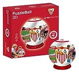 Sevilla FC Puzzleball (Tamaño Balón) 8,4 (10605), Multicolor