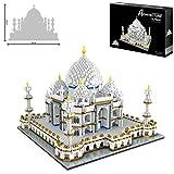 Taj Mahal World Famous Landmark 3900 + pcs Nano Mini Kits de Bloques de construcción de...