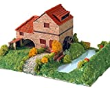 Keranova- Kit de cerámica Casa Rural con Molino, Color marrón (30314) , color/modelo...