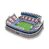 ATLETICO DE MADRID- Nanostad, Puzzle 3D Estadio Vicente Calderón Mini National Soccer...