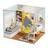 Casa De Montaje De Estudio Sunshine, Mini Casa De Muñecas En Miniatura De Empalme, Kit De...