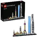 LEGO Architecture - Shanghái, Set de Construcción de Skyline con el World Financial...
