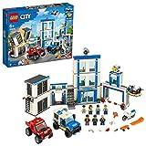 LEGO60246CityComisaríadePolicíaSetdeConstrucciónconVehículosyMi...