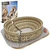 World Brands Cubic Fun-Puzzle 3D City Traveller del Coliseo Romano, National Geographic...