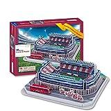 Estadio Deportivo 3D Modelo de Rompecabezas, Levante UnióN Deportiva Estadio Vicente...