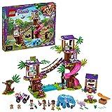 LEGO 41424 Friends Base de Rescate en la Selva Juguete de Construcción para Niños Casa...
