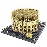 Massage-AED Nanoblock Adultos,1758 Piezas Arquitectura Ciudad Italia Roma Coliseo Juegos...