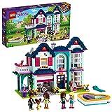 LEGO 41449 Friends Casa Familiar de Andrea Juguete de Construcción Casa de Mini Muñecas...