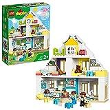 LEGO 10929 Duplo Town Casa de Juegos Modular, Juguete 3en1, Casa de Muñecas con Mini...