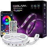 10M Tira LED, COOLAPA RGB Luces LED, Iluminación de ambiente, Sync con Música, 5050 12V...