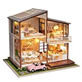 Casa de muñecas en miniatura de habitaciones Set-Woodcraft Construction Kit-Madera Modelo...