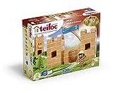 Teifoc Teifoc-T55 TEI 55-Juego de construcción de Ladrillos, Multicolor, Castle...