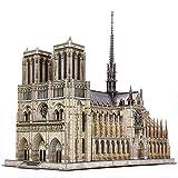 CubicFun Puzzle 3D Francia Notre Dame de Paris Modelo de Arquitectura Kits de...