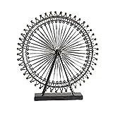 Huachaoxiang Modelo de rueda de la noria de metal 3D, caja 3D kit de madera para el...