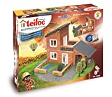 Teifoc Teifoc-T4700 Piedra Bloques Villa con Garaje, Color Multicolor with Garage...