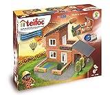 Teifoc Teifoc-T4700 Piedra Bloques Villa con Garaje, Color Multicolor with Garage...