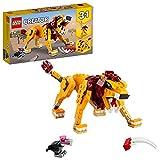 LEGO31112Creator3 en 1LeónSalvaje,AvestruzyJabalí,...