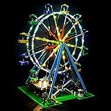 LIGHTAILING Conjunto de Luces (Creator Noria) Modelo de Construcción de Bloques - Kit de...