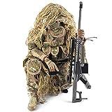 Mecotecn 1/6 Figuras Soldados, 12 Figura de Acción con Arma, Figuras Militares Conjuntos...