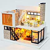 XYYDIY DIY Modelo de construcción de Casas pequeñas Juguete Villa Grande Regalo de...