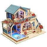 Decdeal Miniatura Súper Mini Tamaño Casa de Muñecas Kits de Modelos de Construcción de...
