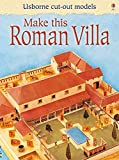 Make this roman villa (Cut-out Model)