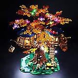 BRIKSMAX Kit de Iluminación Led para Lego La casa del árbol Ideas,Compatible con...