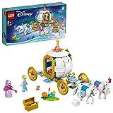 LEGO43192DisneyCarruajeRealdeCenicienta,JuguetedeConstruccióncon2M...