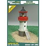 Farol Miniaturas RMH0:051 Gellen Faro Diorama, 6,9 x 4 x 12 cm