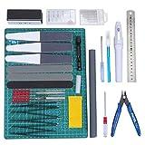 WiMas 33PCS Gundam Modeler Builder's Tools, Gundam Herramientas de Modelismo, Hobby...