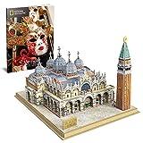 Cubic Fun- National Geographic Puzzle 3D Plaza de San Marcos (Tachan DS0980h)