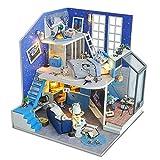 Casas de muñecas, Diy House Of Star Field Manual creativo Asamblea Modelo Casa Romántica...