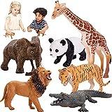 HERSITY Figuras Animales del Bosque Juguete Colección de Animales de la Selva Regalo...