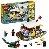 LEGO 31093 Creator 3 en 1 CasaFlotantedelRío, Hidroavión o Pueblo de Pescadores,...