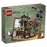 LEGO Ideas - Antigua tienda de pesca, Set de construcción de edificio pesquero con...